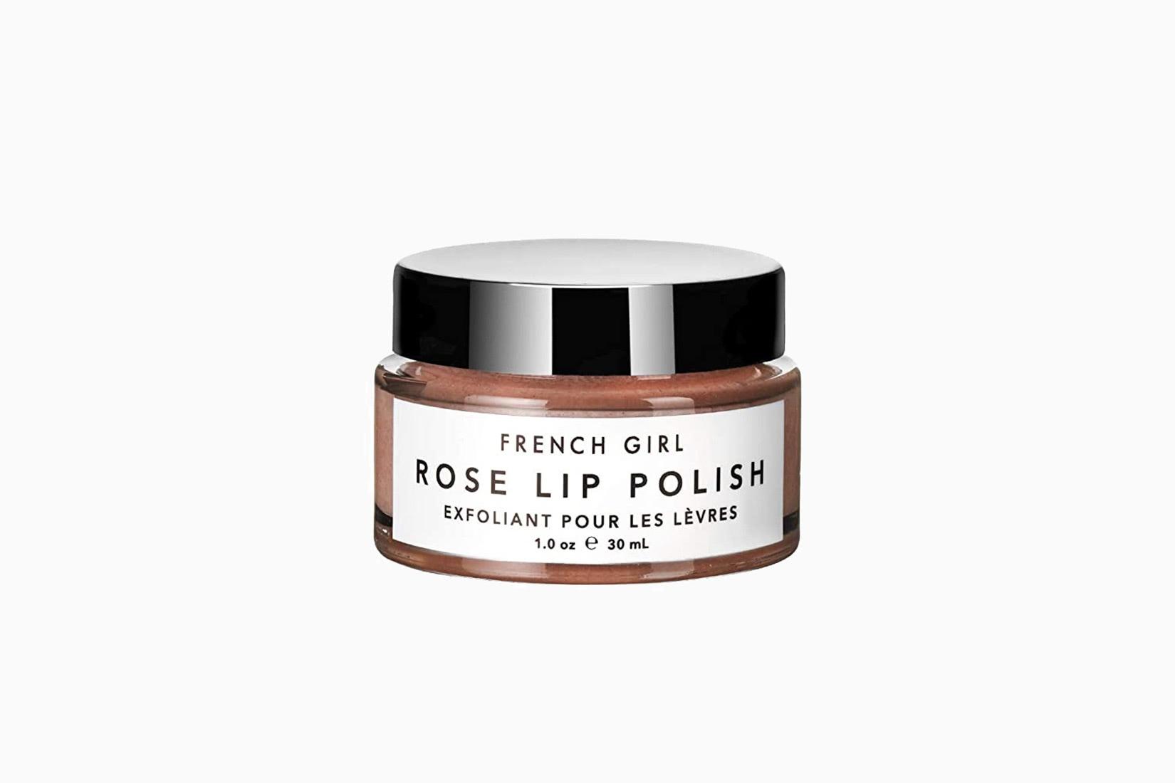 best natural organic beauty skincare french girl organics rose lip polish - Luxe Digital