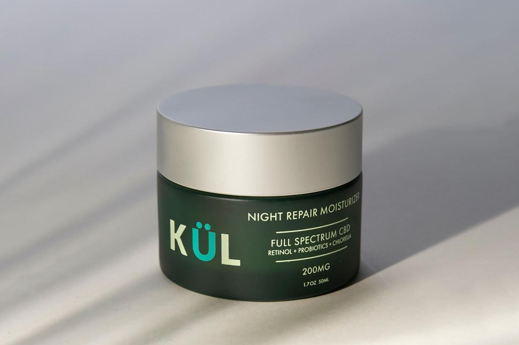 best natural organic beauty skincare kulcbd night repair moisturizer - Luxe Digital