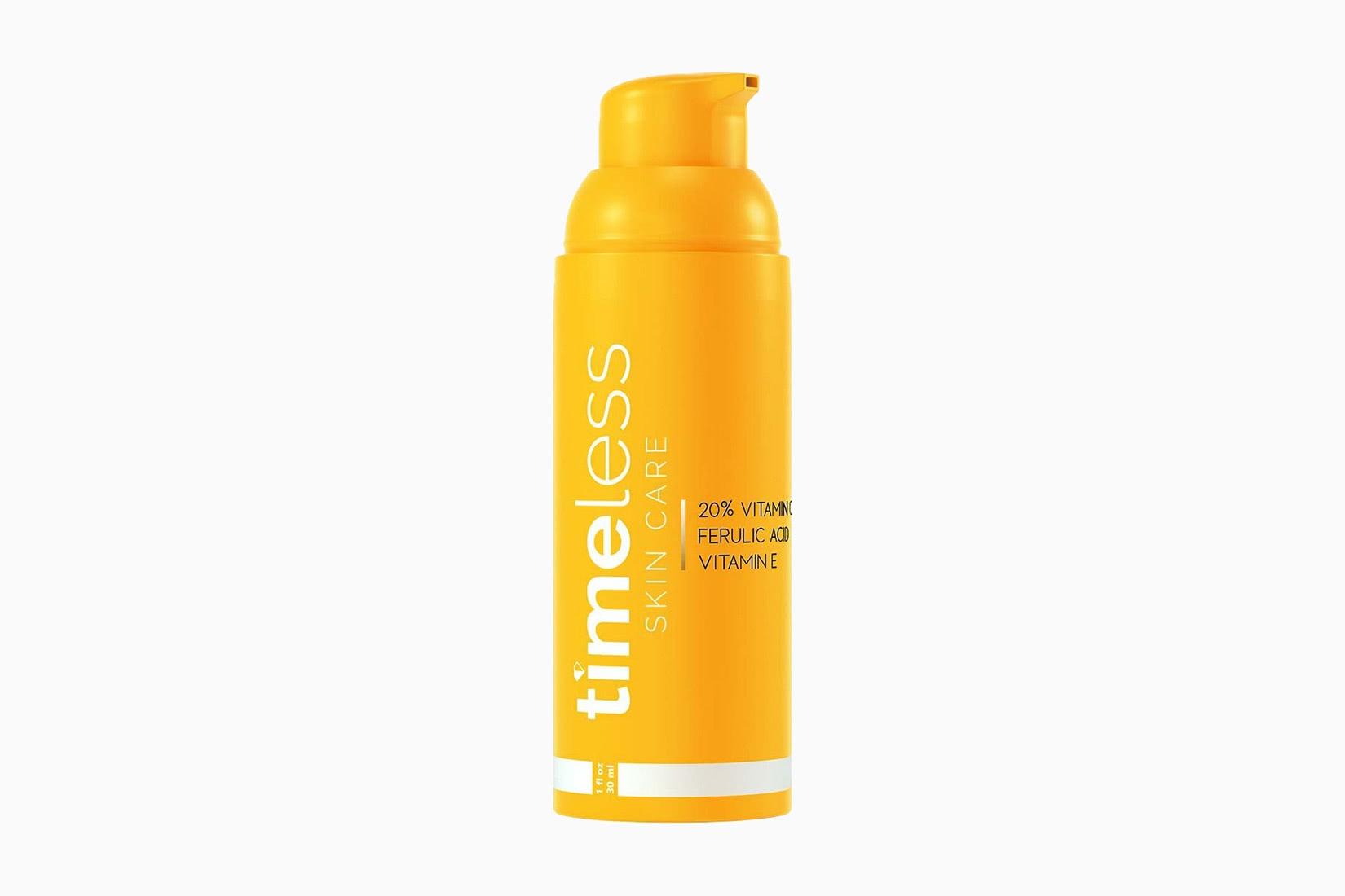 best natural organic beauty skincare timeless skin care vitamin c e ferulic acid serum - Luxe Digital