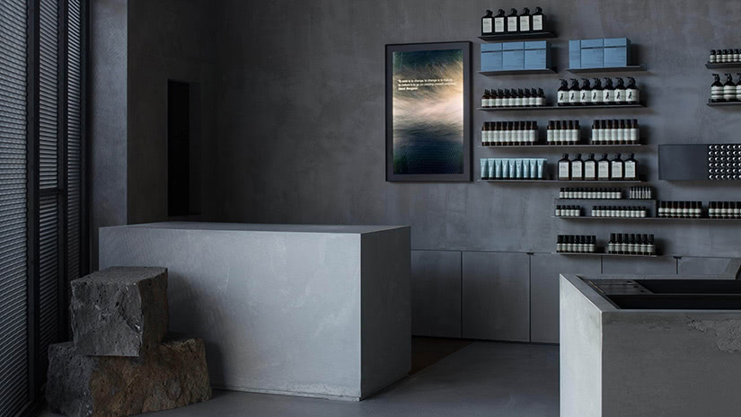 online luxury beauty retail aesop store melbourne - Luxe Digital