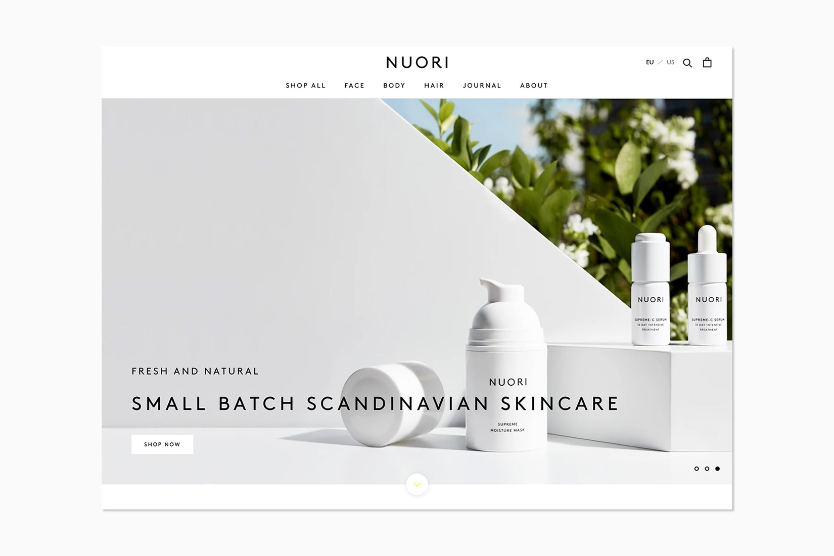 online luxury beauty retail nuori - Luxe Digital