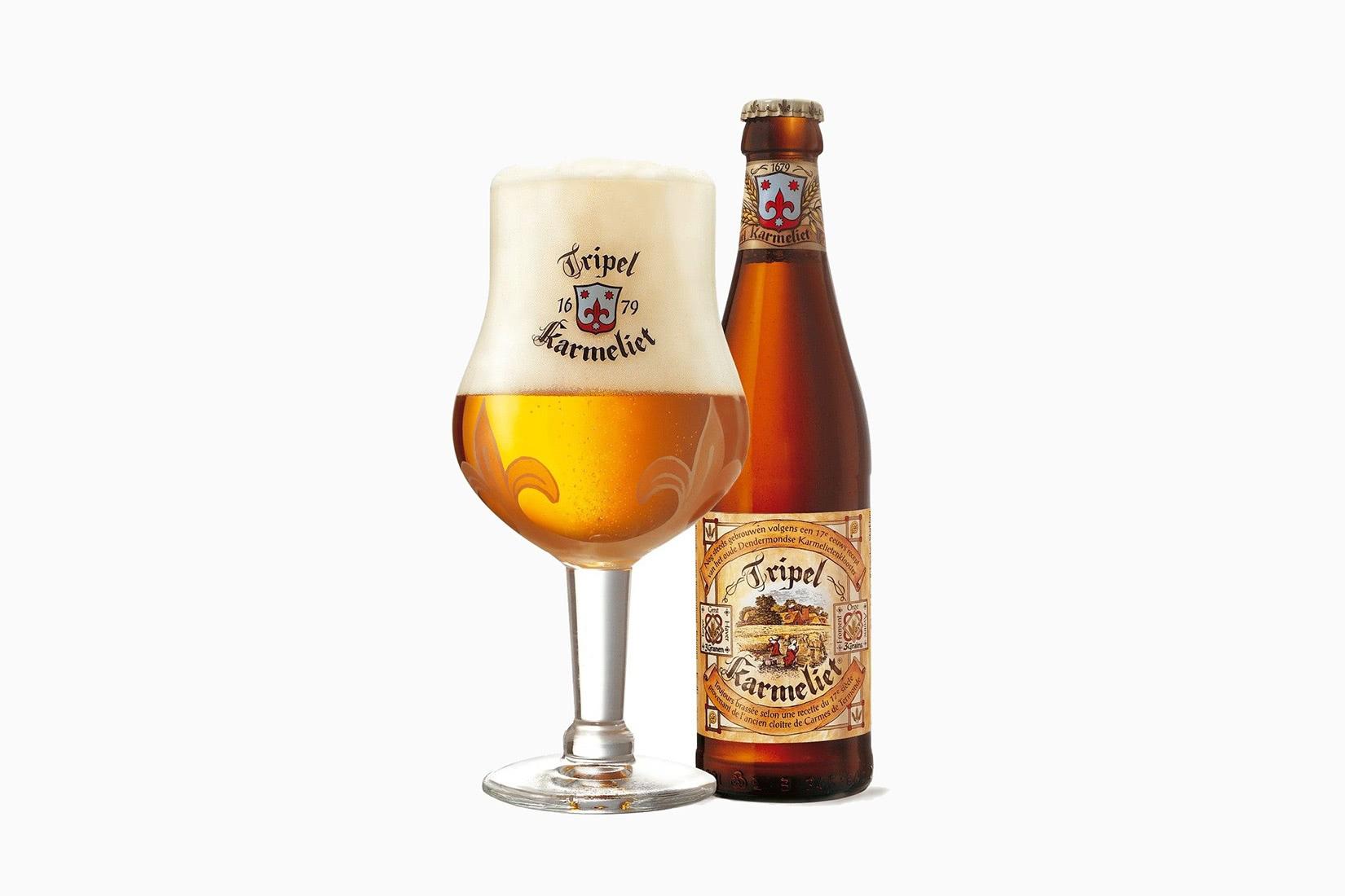 best beer brands tripel karmeliet - Luxe Digital