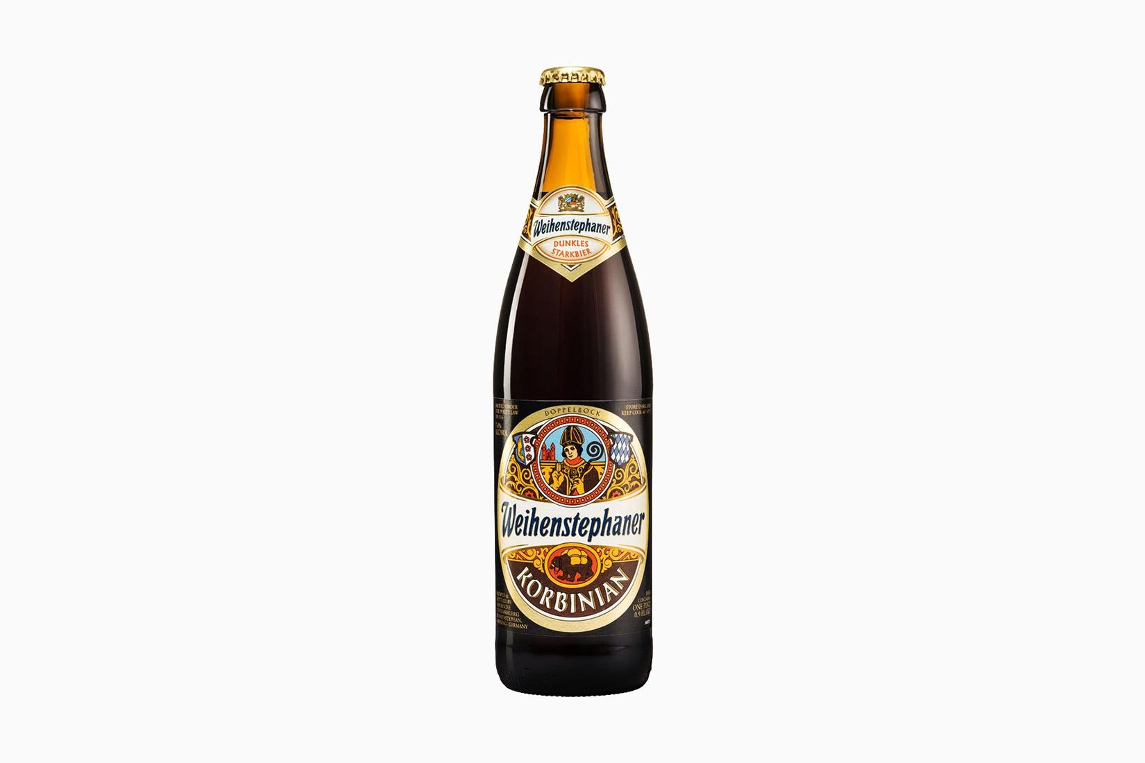 best beer brands weihenstephaner korbinian- Luxe Digital
