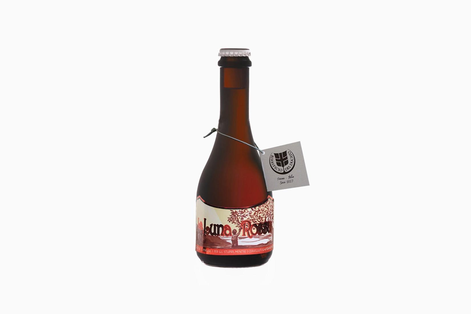 best beer brands birrificio del ducato la luna rossa - Luxe Digital