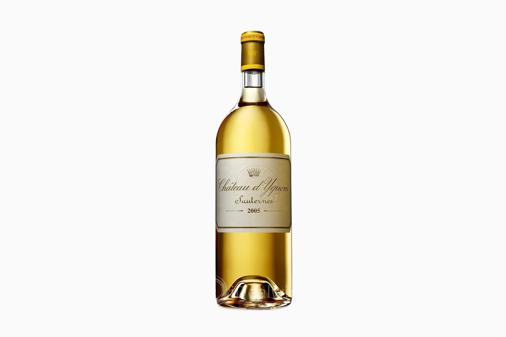 best wine chateau d'yquem sauternes - Luxe Digital