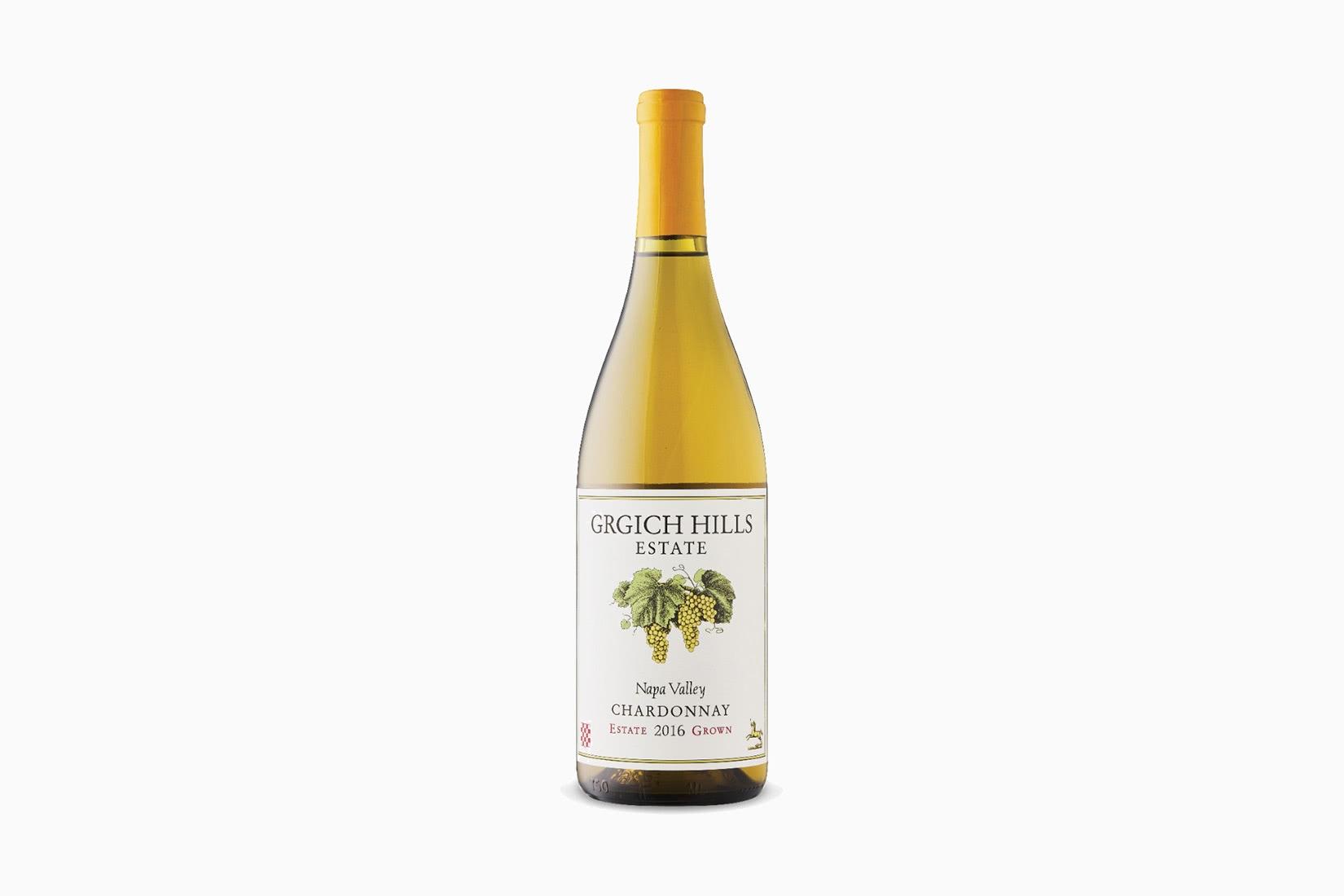 best wine grgich hills estate chardonnay - Luxe Digital
