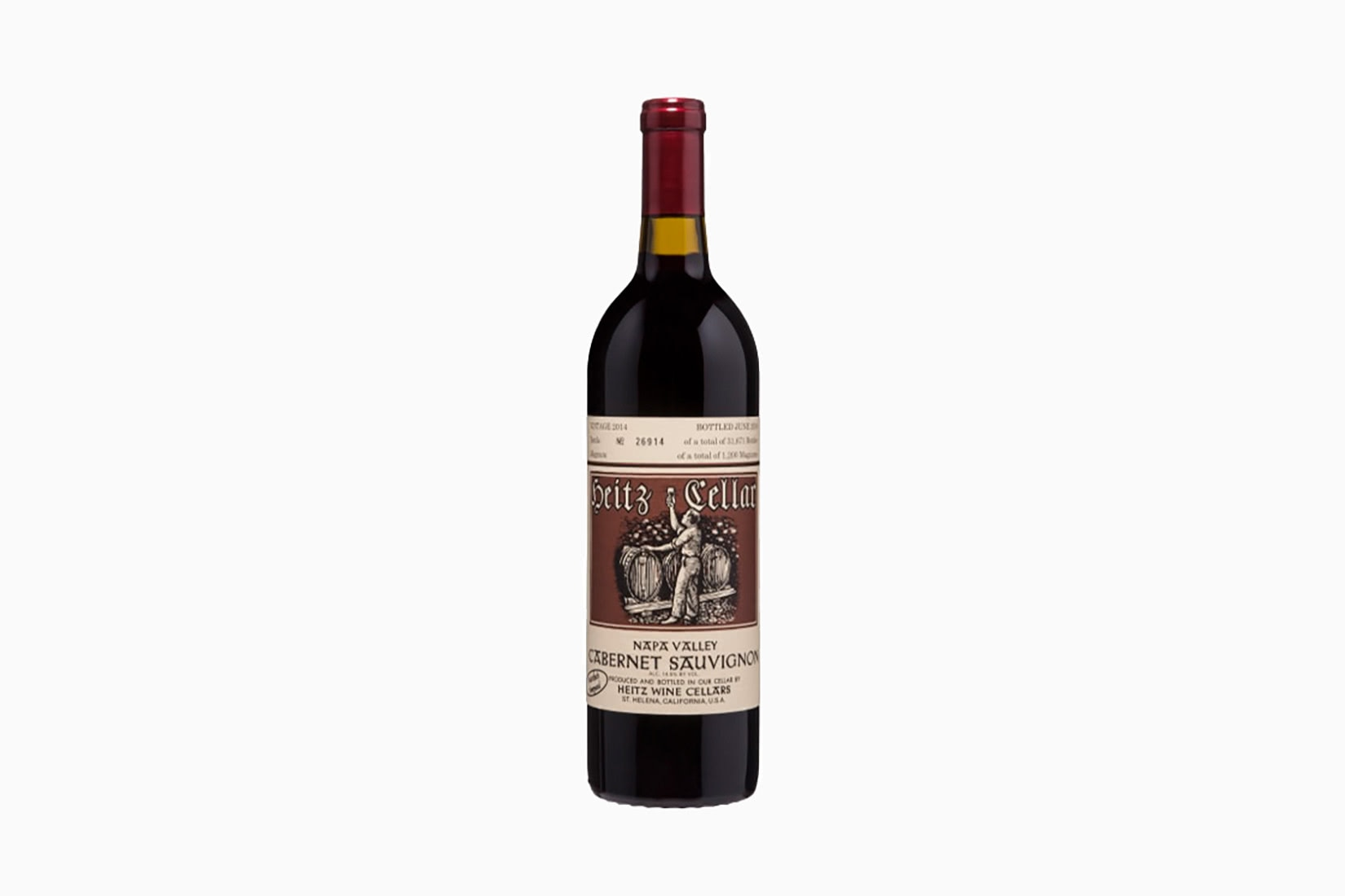 best wine heitz cellar martha vineyard cabernet sauvignon - Luxe Digital