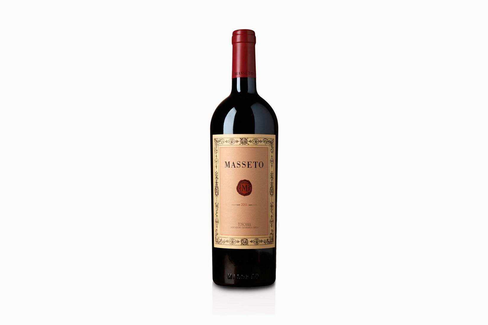 best wine masseto - Luxe Digital