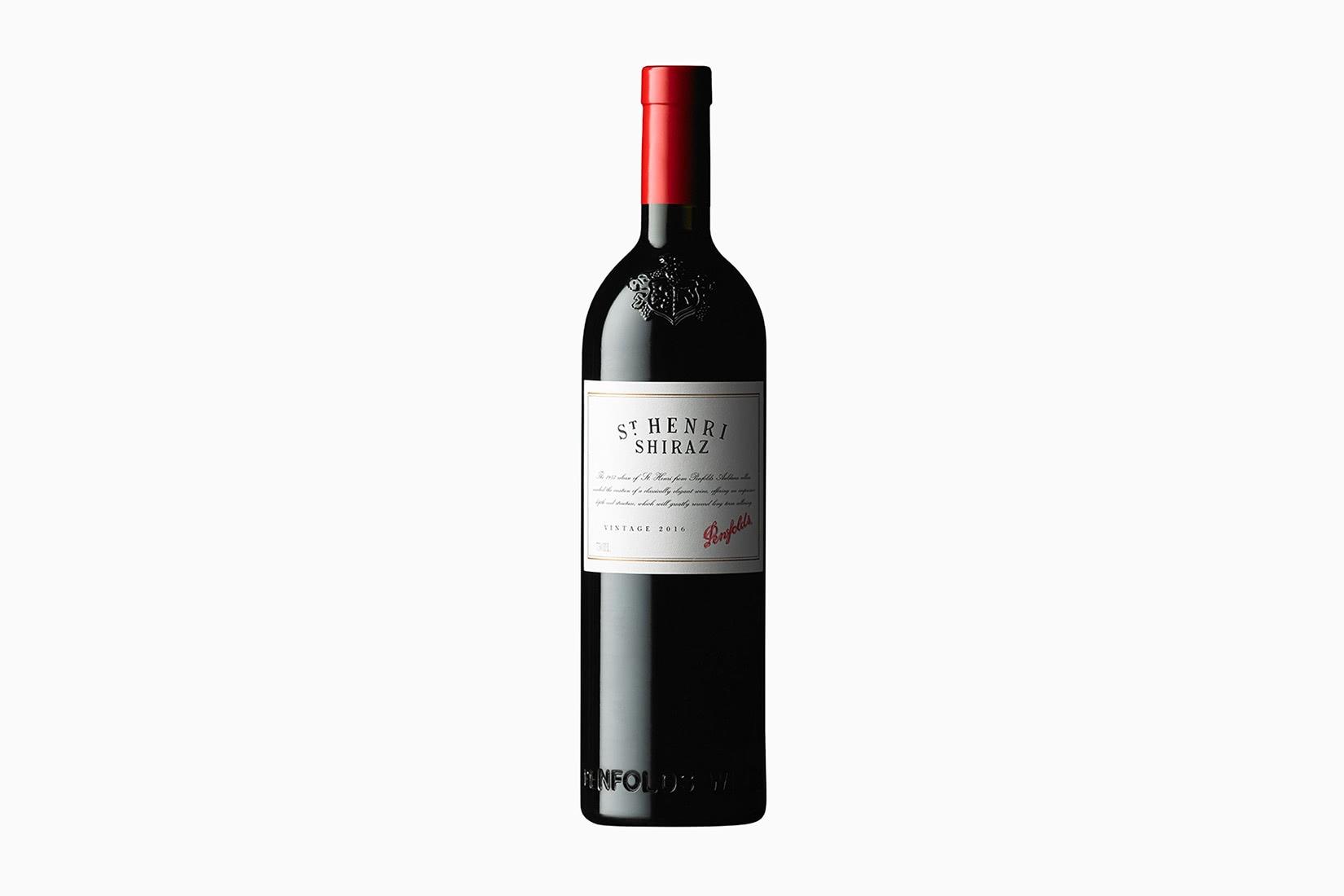 best wine penfolds st henri shiraz - Luxe Digital