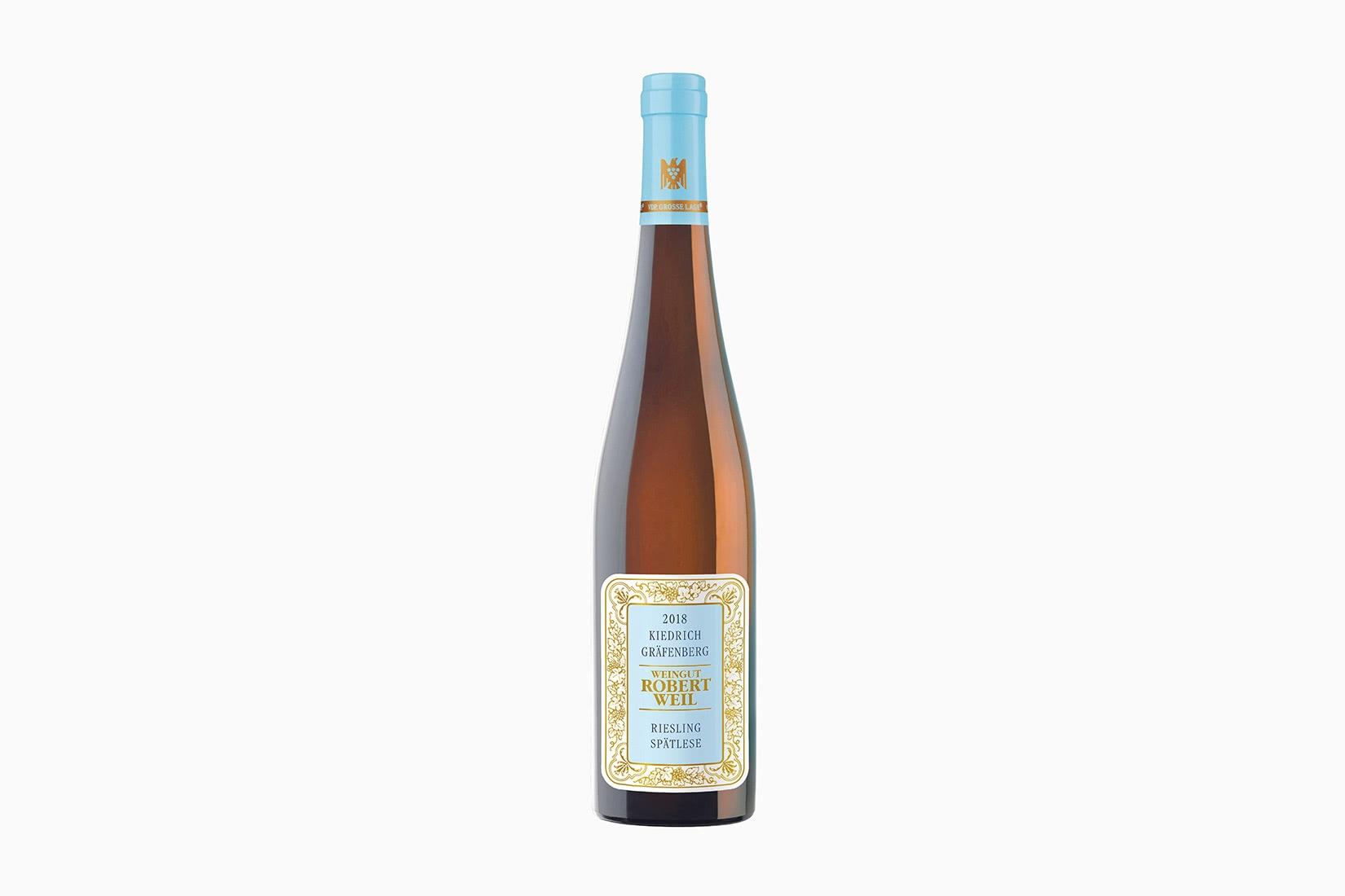 best wine robert weil kiedrich grafenberg riesling spatlese - Luxe Digital