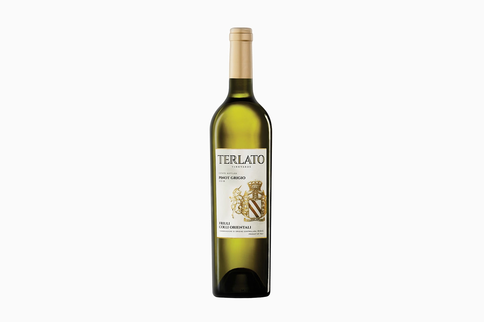 best wine terlato family vineyards friuli pinot grigio - Luxe Digital