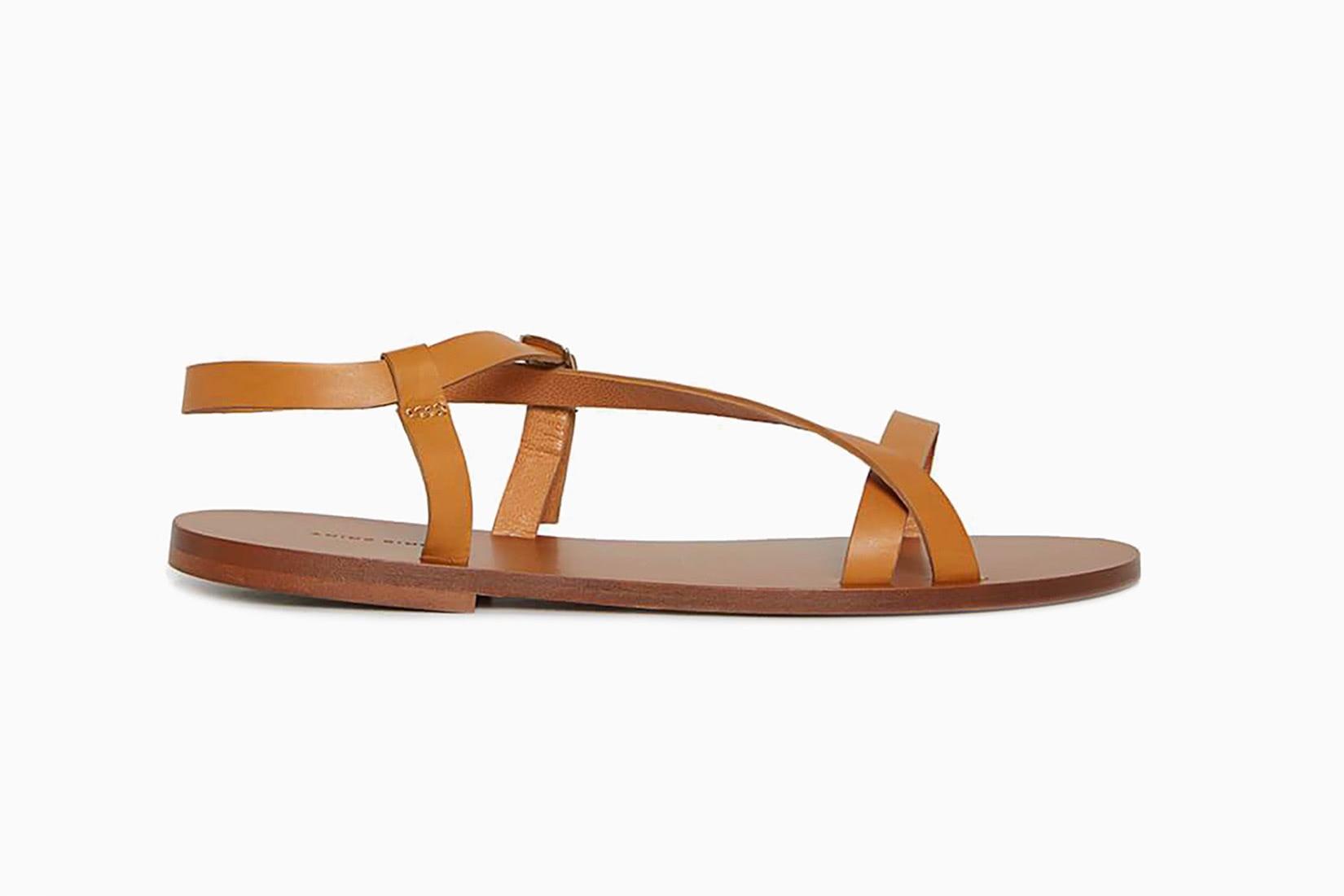 best women walking shoes anine bing rocco flats sandals - Luxe Digital