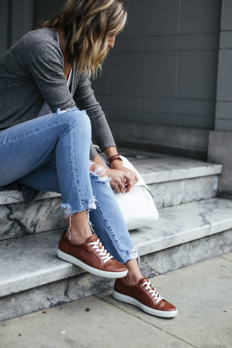 best women walking shoes comfortable sneakers - Luxe Digital
