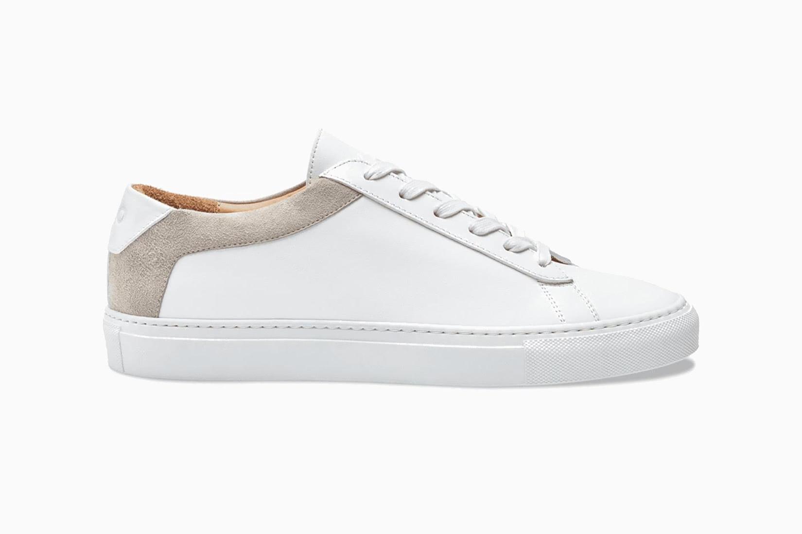 best women walking shoes koio capri bianco sneakers - Luxe Digital