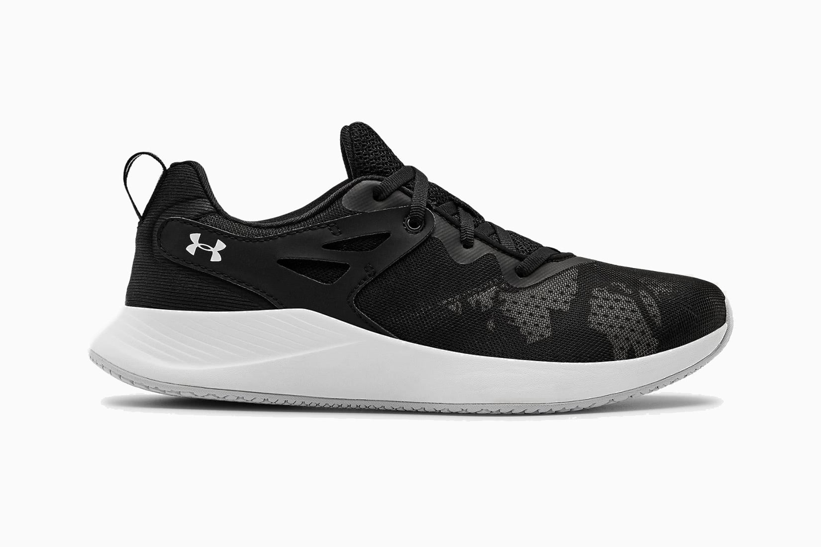 best women walking shoes under armour charged breathe TR 2+ sneakers - Luxe Digital