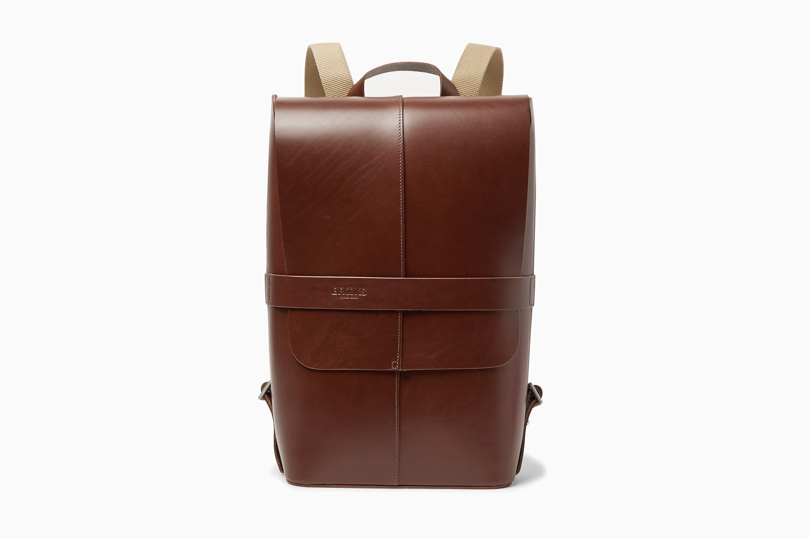 best edc backpack brooks england leather - Luxe Digital