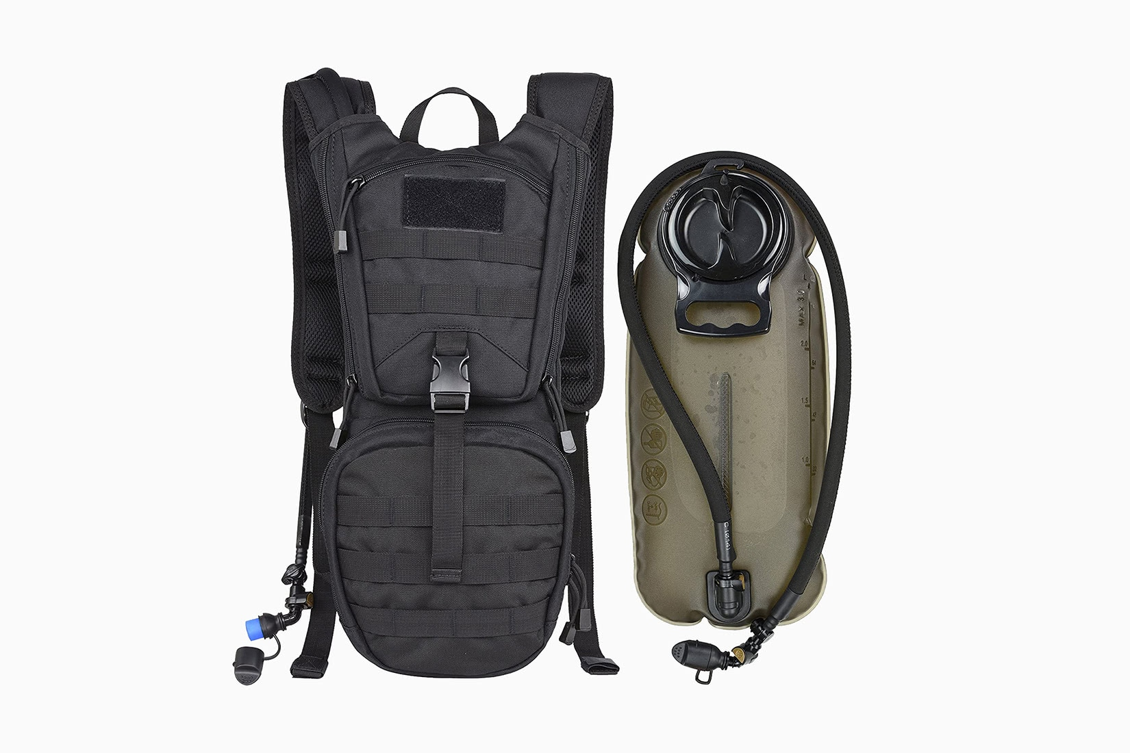best tactical backpack marchway molle hydration pack - Luxe Digital