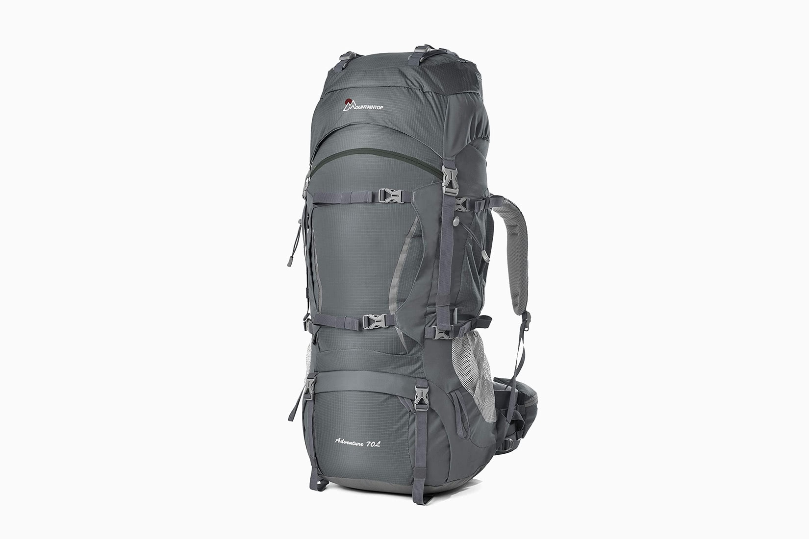 best travel backpack mountaintop 70L hiking - Luxe Digital