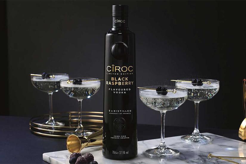 ciroc vodka cocktail recipe blue stone - Luxe Digital