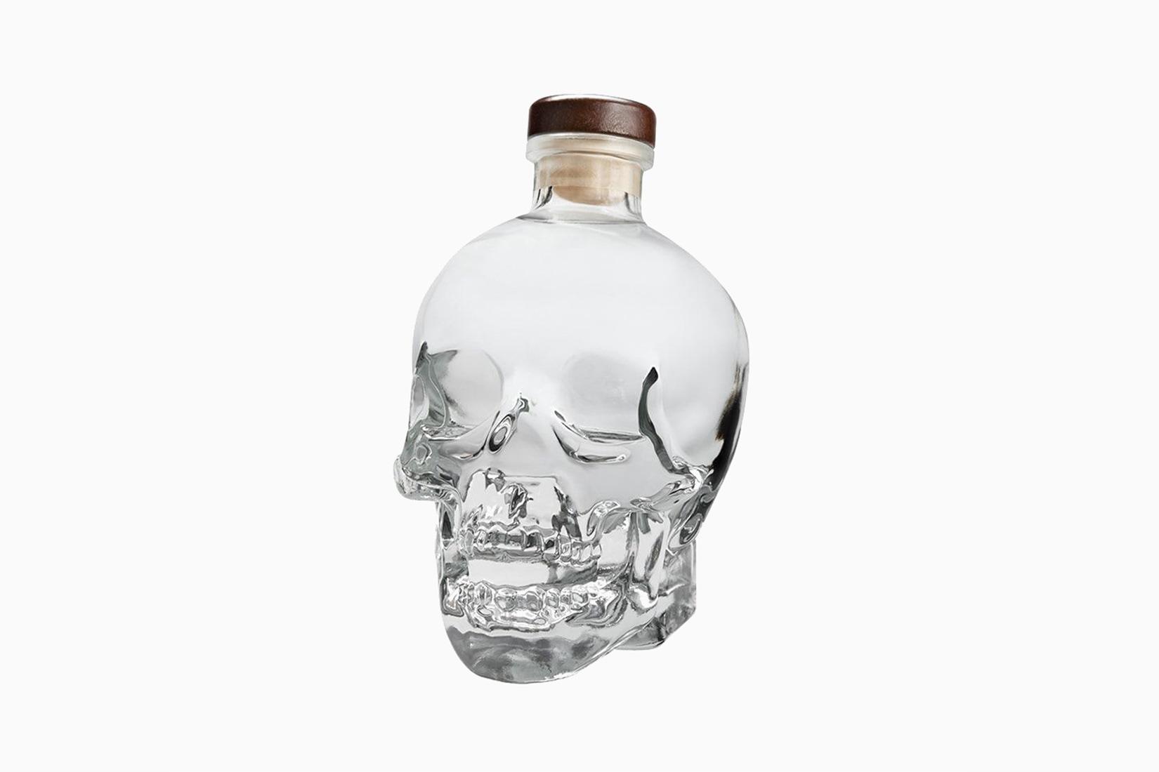 botella de vodka crystal head precio tamaño - Luxe Digital