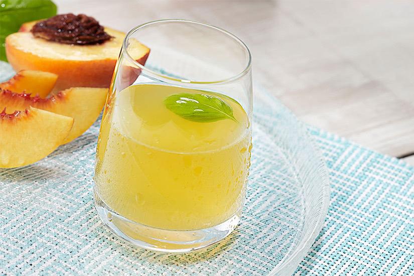 Vodka de cabeza de cristal receta de cóctel de durazno del norte - Luxe Digital
