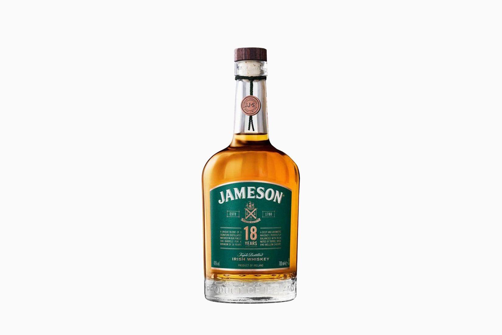 botella de whisky jameson precio tamaño 18 años - Luxe Digital