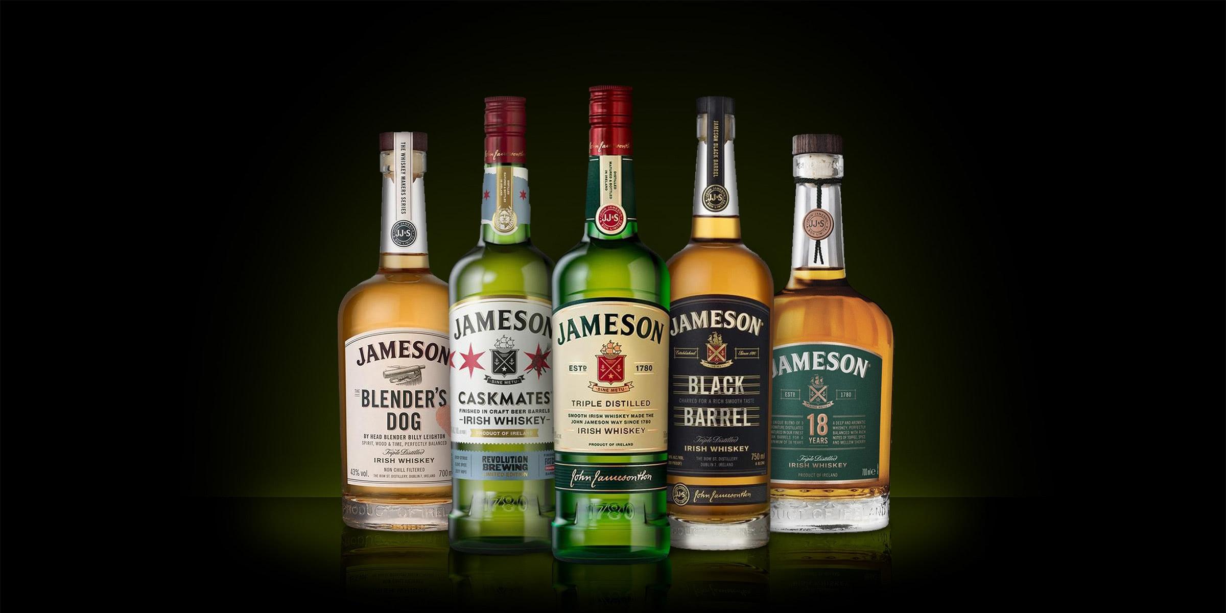 jameson whiskey - Luxe Digital