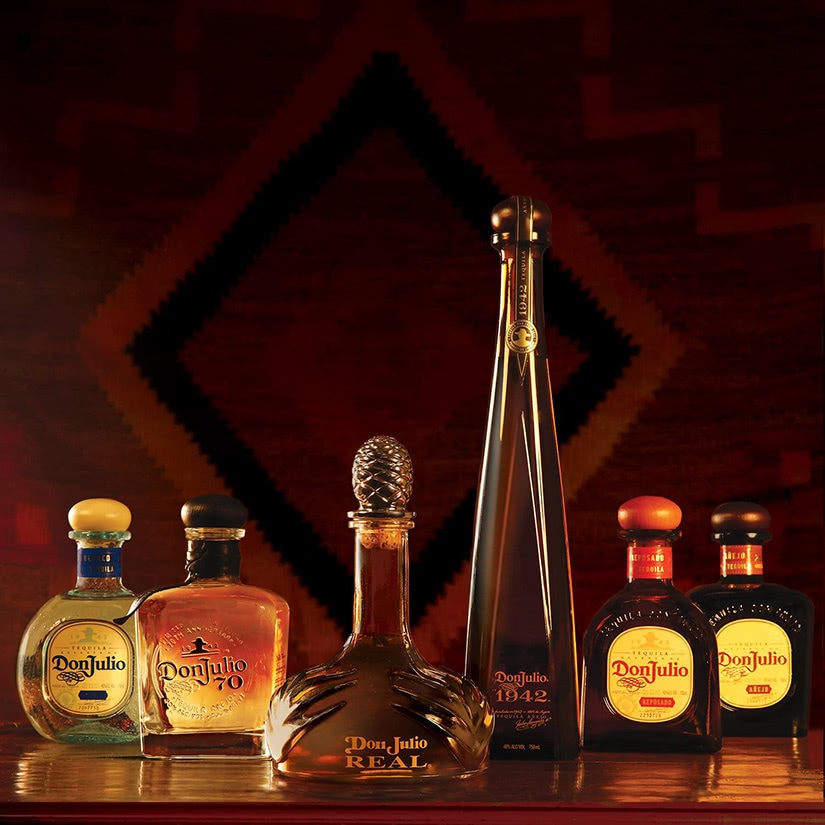 don julio tequila collection - Luxe Digital