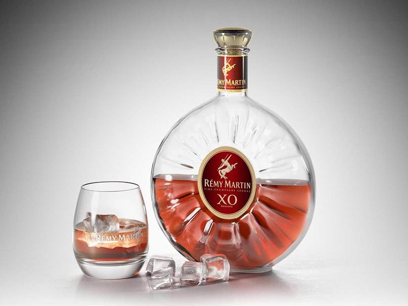 Rémy Martin luxury cognac glass - Luxe Digital