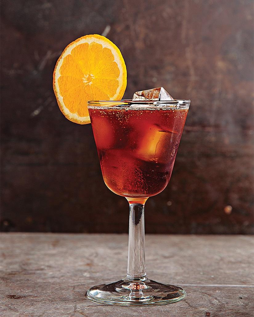 receta de cóctel de blanton bourbon piloto ciego - Luxe Digital