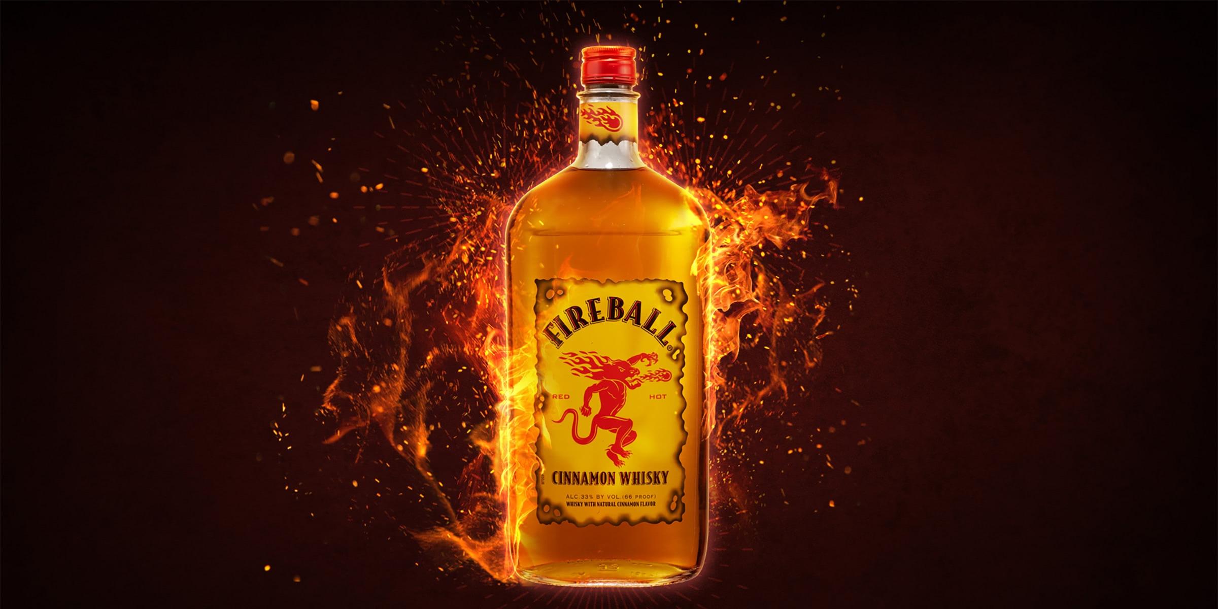 fireball cinnamon whisky - Luxe Digital