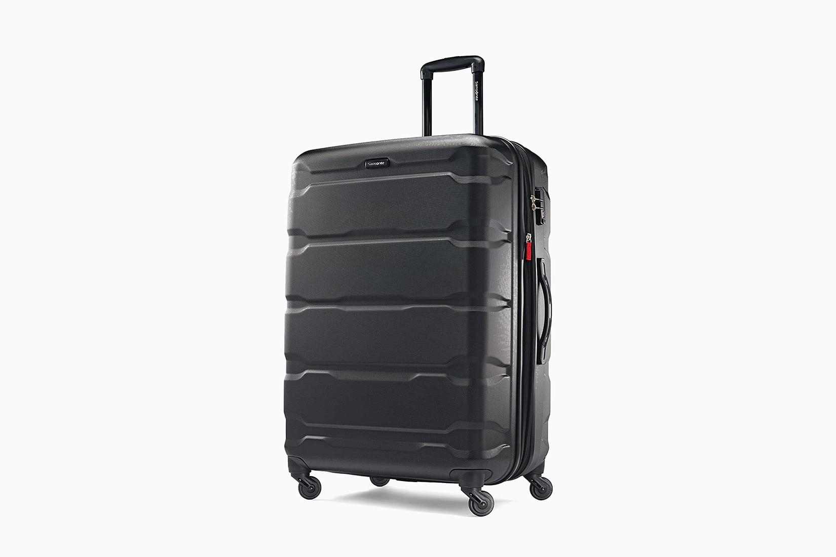 best luggage brands suitcase lightweight samsonite - Luxe Digital