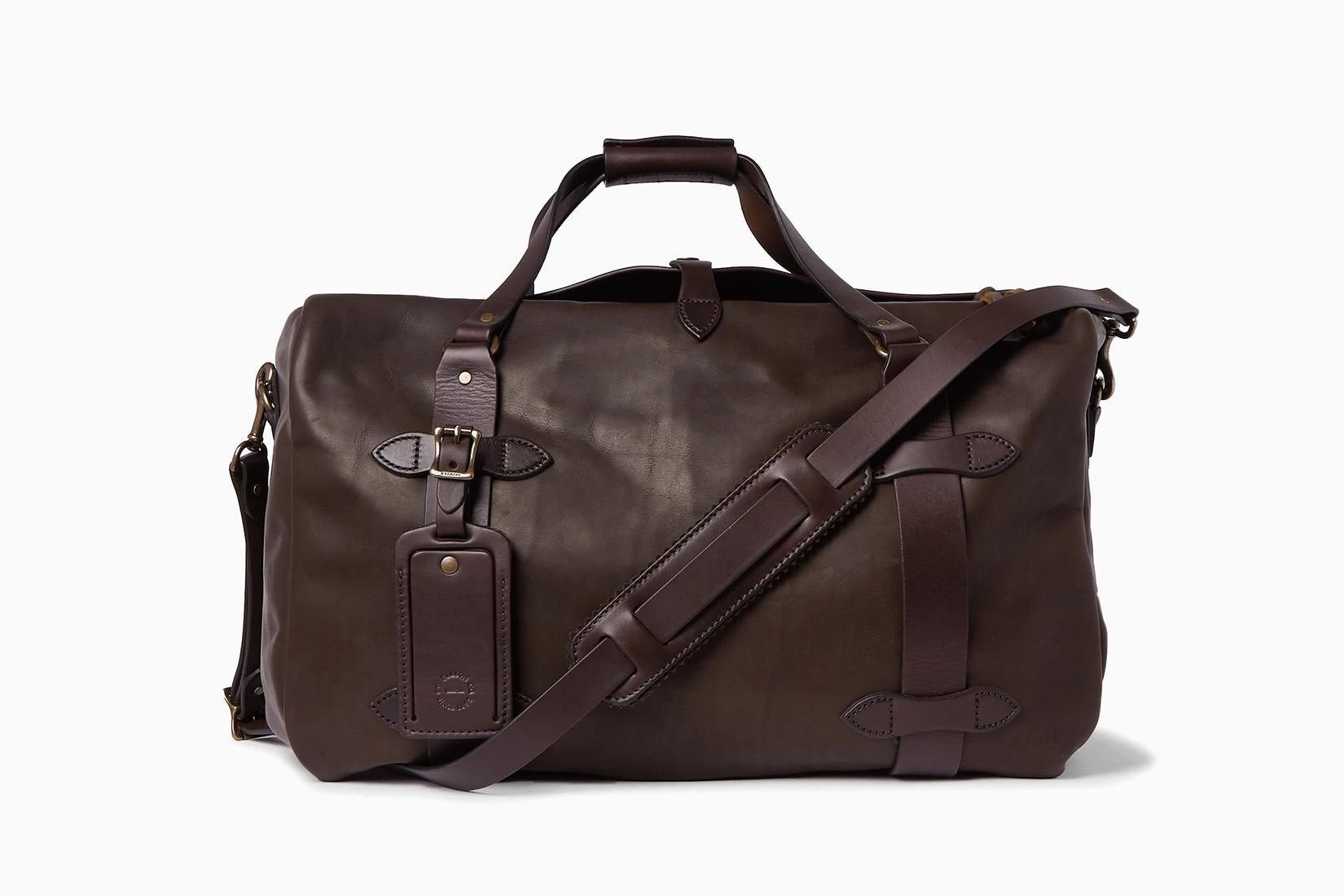 best duffel bags leather filson - Luxe Digital
