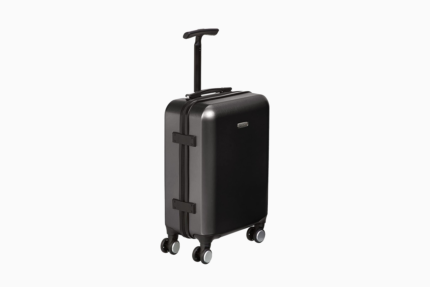 best carry-on luggage travel affordable AmazonBasics - Luxe Digital