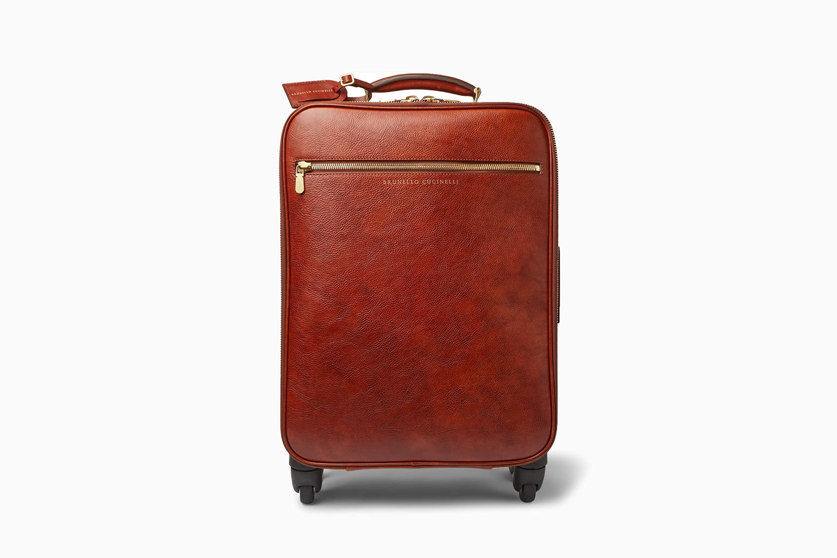 best carry-on luggage travel expensive brunello cucinelli - Luxe Digital