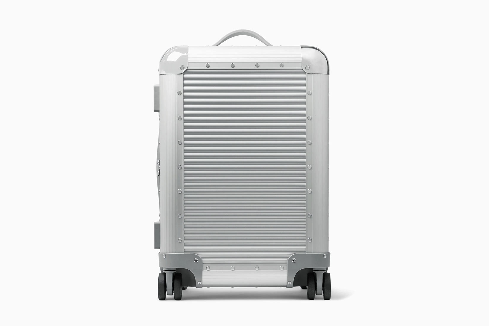 best carry-on suitcase travel stylish fabbrica pelletterie milano - Luxe Digital