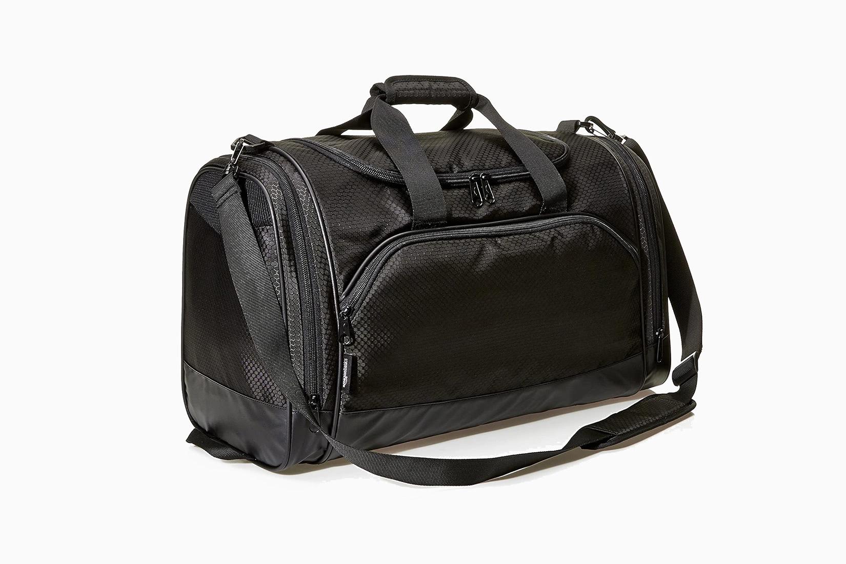 best men gym bag budget amazonbasics - Luxe Digital
