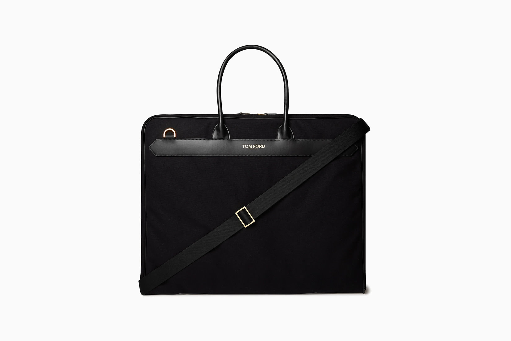 best garment bags leather tom ford review - Luxe Digital