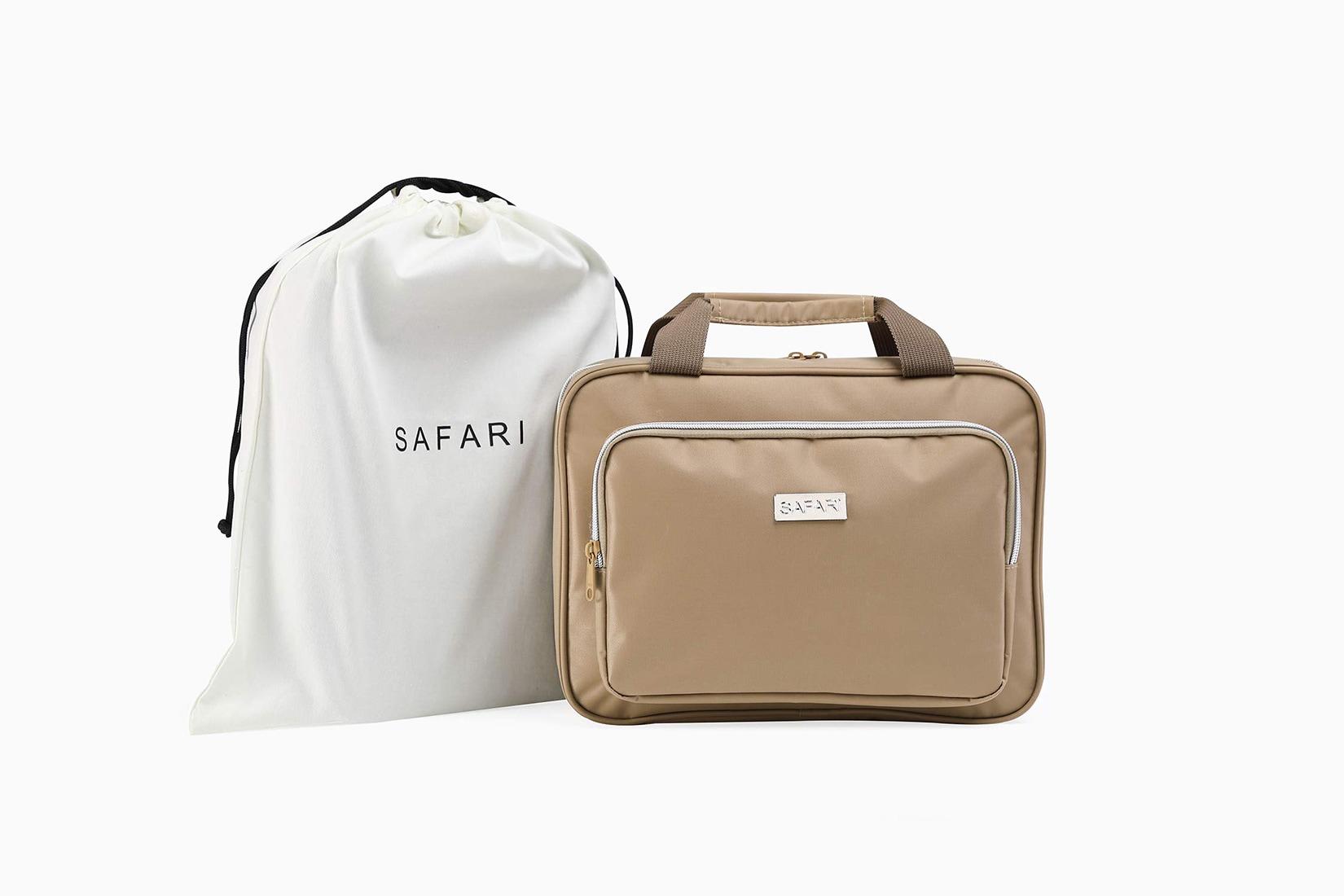 best toiletry bag women family size safari - Luxe Digital