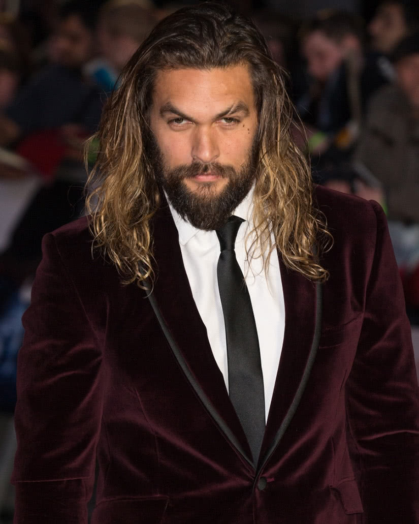 best long hairstyles men hair jason momoa - Luxe Digital