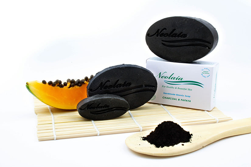 handcrafted natural beauty soap bars neolaia charcoal luxe digital