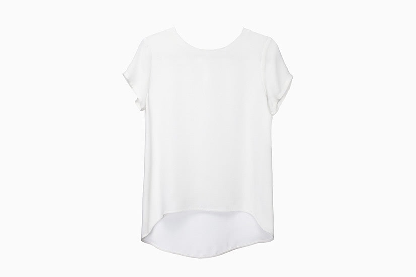 best white t-shirt women cuyana silk tee luxe digital