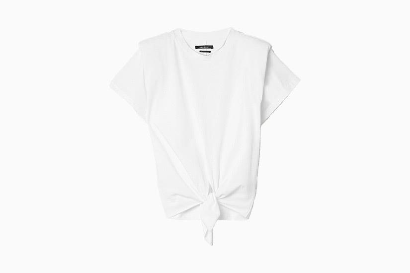 best white t-shirt women isabel marant belita tee luxe digital