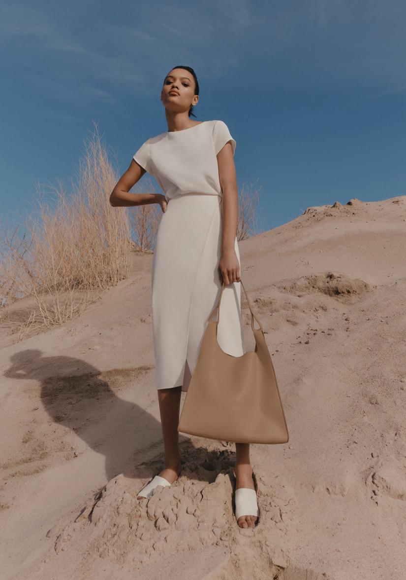 best white tee women smart casual style luxe digital