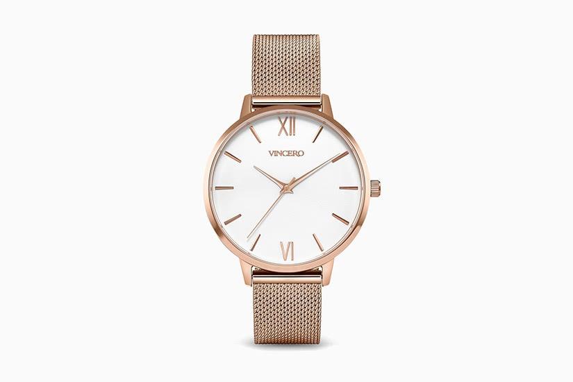 best women watches vincero eros mesh watch luxe digital