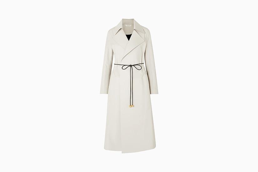 best raincoats women bottega veneta coat luxe digital