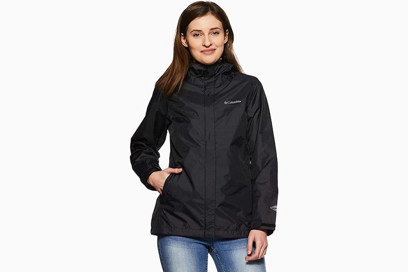 best raincoats women columbia arcadia II rain jacket luxe digital