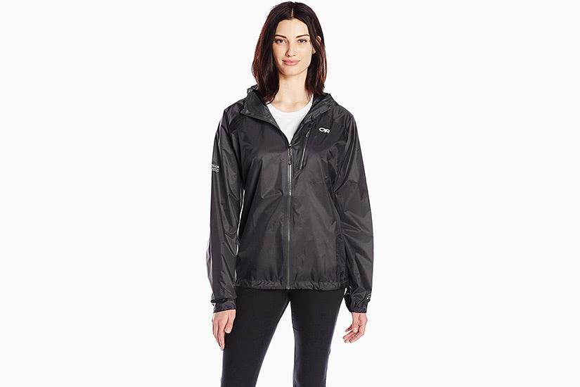 best raincoats women outdoor research helium II luxe digital