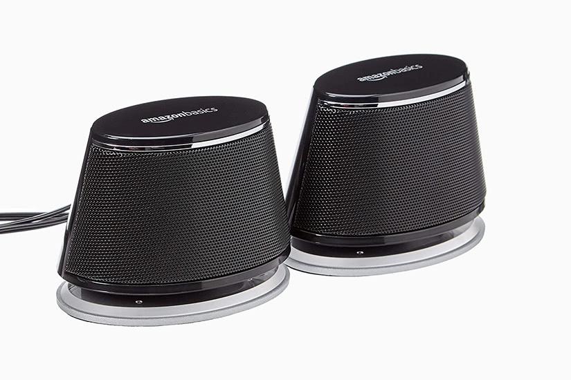 best computer speakers amazonbasics luxe digital