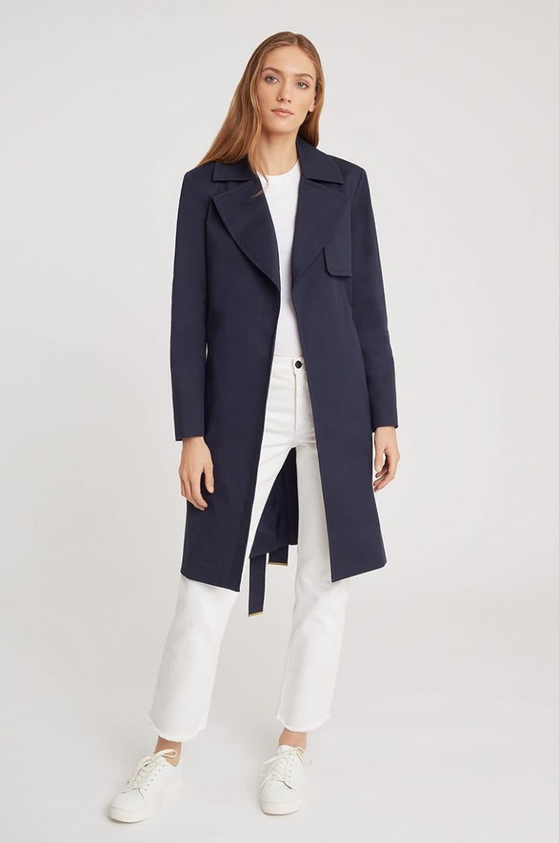 best women trench coat brand cuyana - Luxe Digital